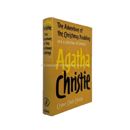 The Adventure of the Christmas Pudding by Agatha Christie First Edition The Crime Club by Collins 19
